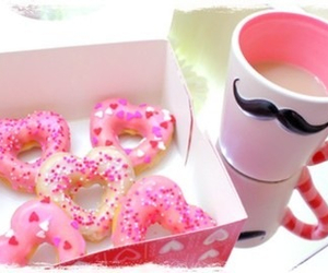 breakfast, donuts, and food image