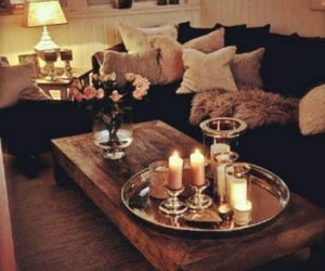 :), living, and candles image