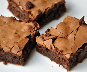 brownie, cake, and delicious image