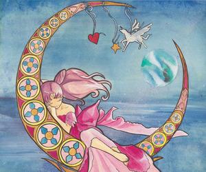 chibi and sailor moon image
