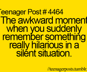 awkward, teenager post, and quote image