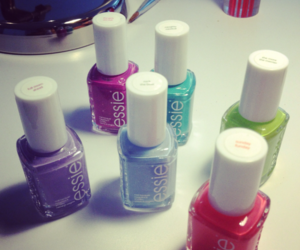 colours, cool, and nail image