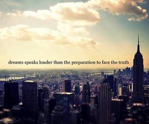 Dream, quote, and city image
