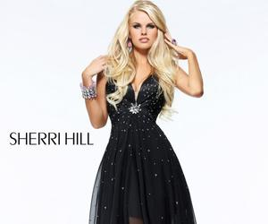 black, blond, and hill image