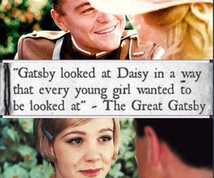 gatsby, leonardo dicaprio, and the great gabsy image