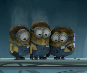 minions, funny, and cute image