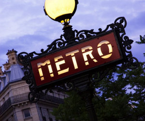 metro and paris image