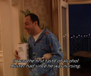 buster, arrested development, and buster bluth image