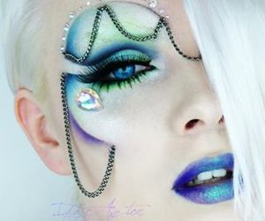 eyes, fantasy, and lips image