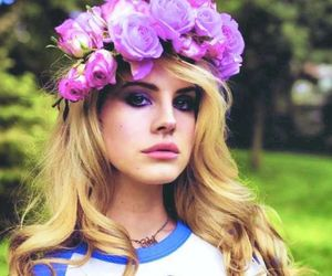 lana del rey, flowers, and blonde image