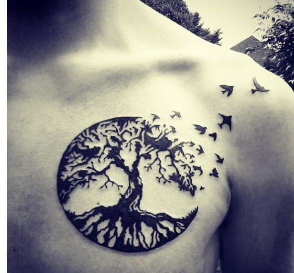 Tree Tattoo Tattoos Uploaded By Heytch On We Heart It