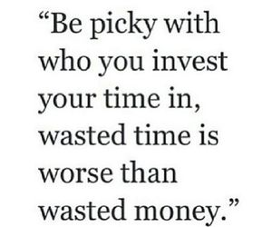 quote, time, and money image
