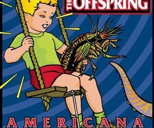 americana, pinterest, and the offspring image