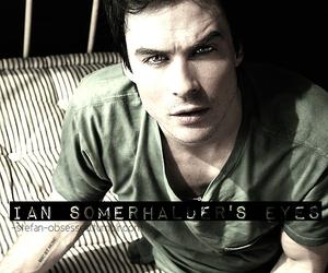 beautiful eyes, eyes, and ian somerhalder image