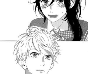 hirunaka no ryuusei, manga, and mamura image