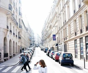 girl, street, and city image