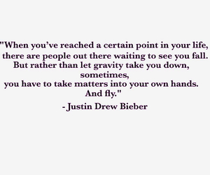justin, justin drew bieber, and quote image