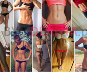 fitness and hot girls image