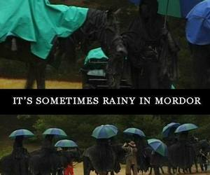 rain, the lord of the rings, and mordor image