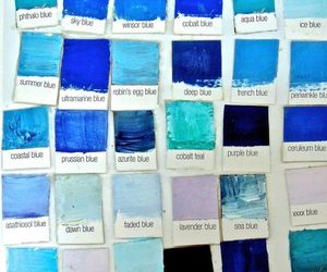 blue, colors, and art image