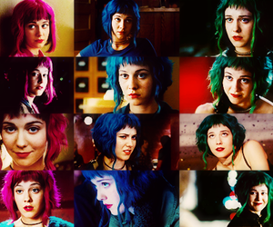hair, scott pilgrim, and ramona flowers image