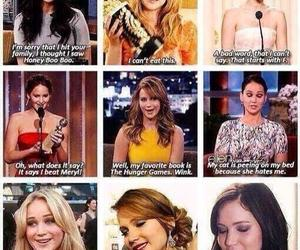 Jennifer Lawrence, funny, and quotes image