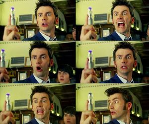david tennant, sonic screwdriver, and doctor who image