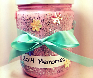 jar, memories, and new year image