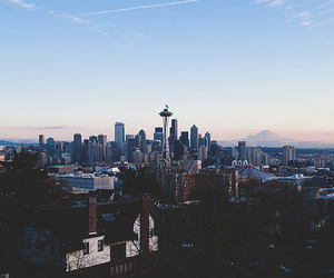 city, seattle, and photography image