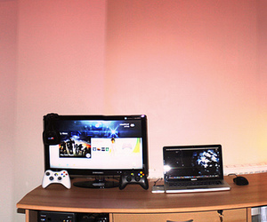 apple, controller, and gaming image