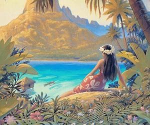 Island and tahiti image