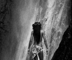 waterfall and tahitian image