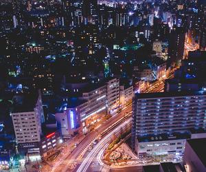 city, night, and beautiful image
