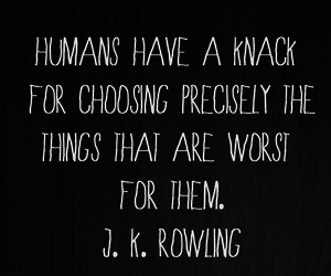 quote, jk rowling, and life image