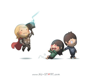 love is, love, and thor image