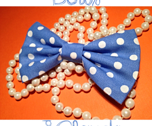 bow, handmade, and bows image