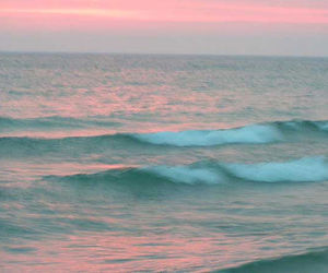 quotes, sea, and waves image