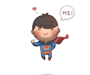 love and superman image