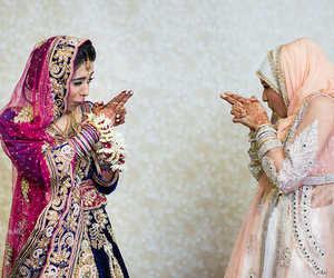 hijab, indian, and style image