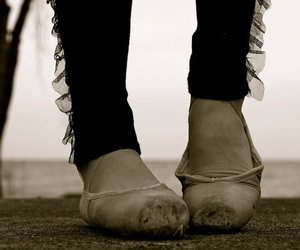 ballet and ballet shoes image
