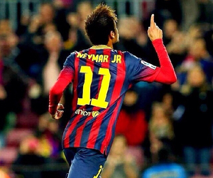 football, soccer, and neymar image