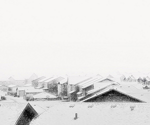 Houses, quiet, and snow image