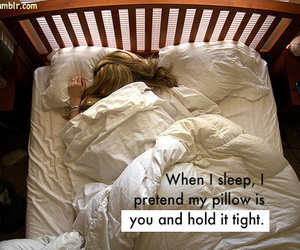 pillow, bed, and sleep image