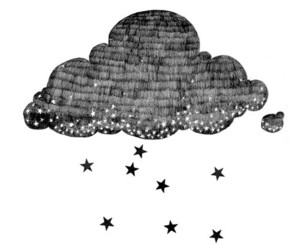 stars, clouds, and drawing image
