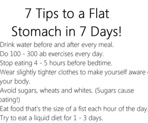 fit, water, and 7 days image