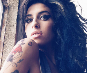 Amy Winehouse, tattoo, and music image