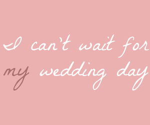 wedding, pink, and text image