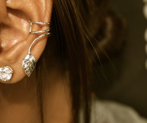 awesome, earings, and hair image