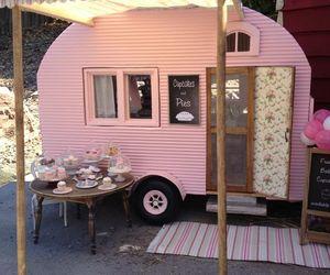 pink, cupcake, and vintage image