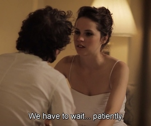 couple, patience, and like crazy movie image